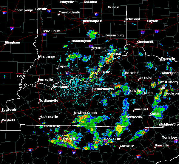 Radar Image for Severe Thunderstorms near Milton, KY at 5/25/2020 5:18 PM EDT