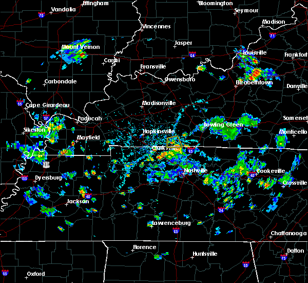 Radar Image for Severe Thunderstorms near Adairville, KY at 5/25/2020 5:34 PM CDT