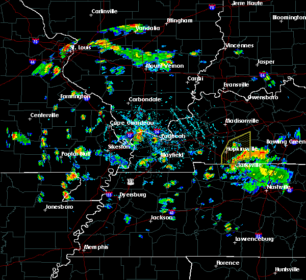 Radar Image for Severe Thunderstorms near La Center, KY at 5/25/2020 5:50 PM CDT