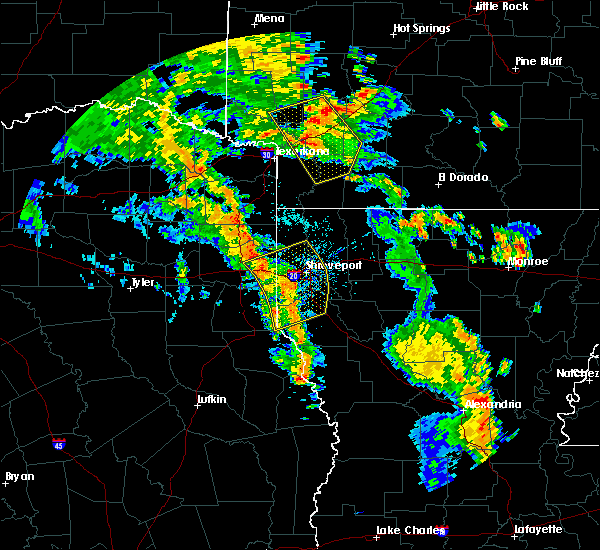 Radar Image for Severe Thunderstorms near Perrytown, AR at 5/25/2020 6:08 PM CDT