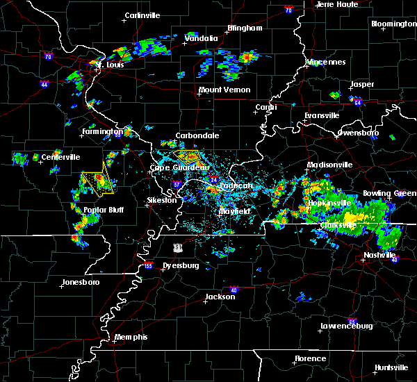 Radar Image for Severe Thunderstorms near Goreville, IL at 5/25/2020 6:36 PM CDT
