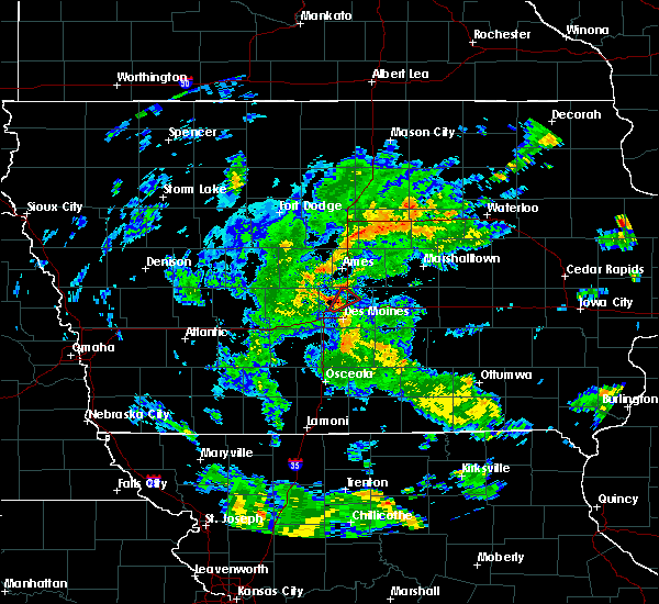Radar Image for Severe Thunderstorms near Ankeny, IA at 5/25/2020 6:43 PM CDT