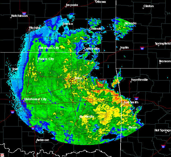 Radar Image for Severe Thunderstorms near Murphy, OK at 5/25/2020 6:55 PM CDT