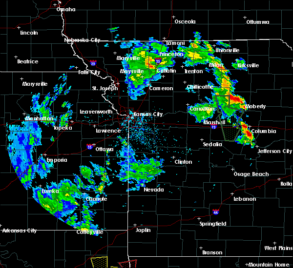 Radar Image for Severe Thunderstorms near Callao, MO at 5/25/2020 7:33 PM CDT