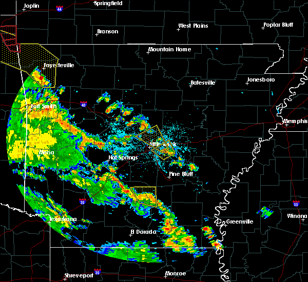 Radar Image for Severe Thunderstorms near Little Rock, AR at 5/25/2020 8:14 PM CDT
