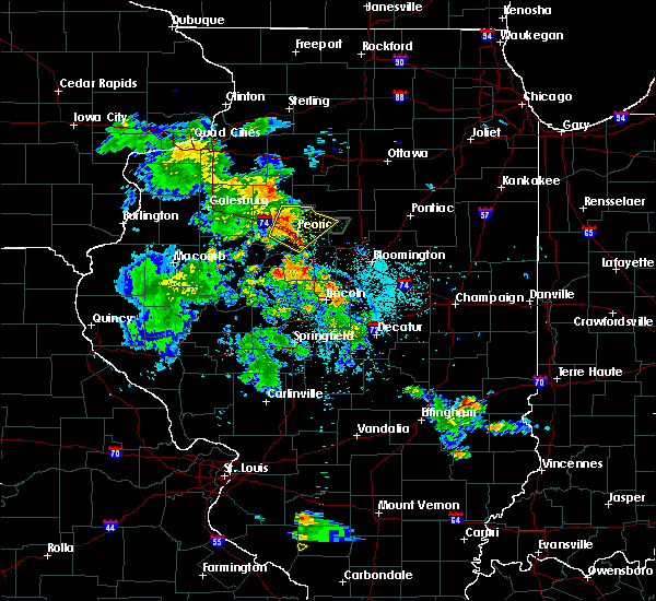 Radar Image for Severe Thunderstorms near Bay View Gardens, IL at 5/25/2020 8:14 PM CDT