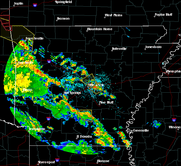 Radar Image for Severe Thunderstorms near Carthage, AR at 5/25/2020 8:17 PM CDT