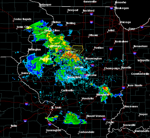 Radar Image for Severe Thunderstorms near Bay View Gardens, IL at 5/25/2020 8:46 PM CDT