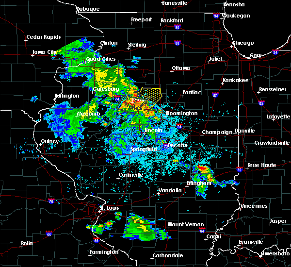 Radar Image for Severe Thunderstorms near Bay View Gardens, IL at 5/25/2020 8:48 PM CDT