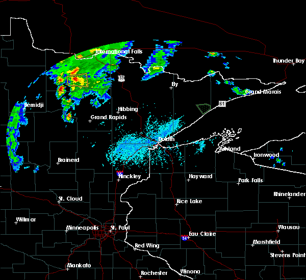 Radar Image for Severe Thunderstorms near Big Falls, MN at 6/27/2015 5:07 PM CDT