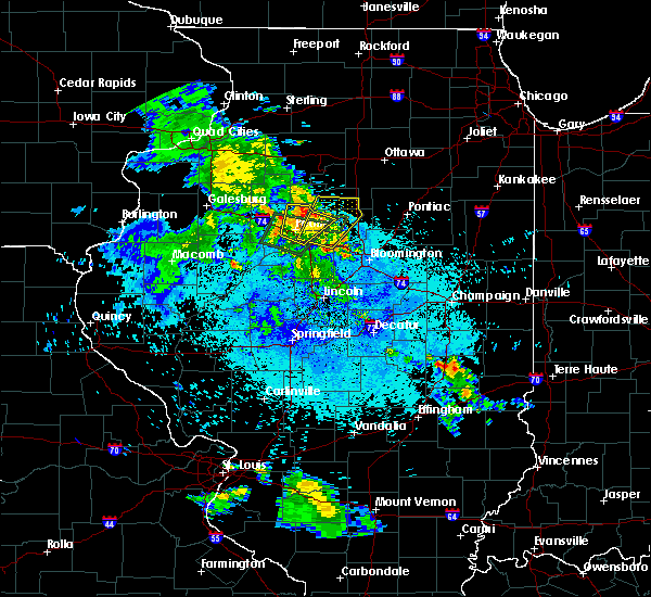 Radar Image for Severe Thunderstorms near Washburn, IL at 5/25/2020 9:04 PM CDT