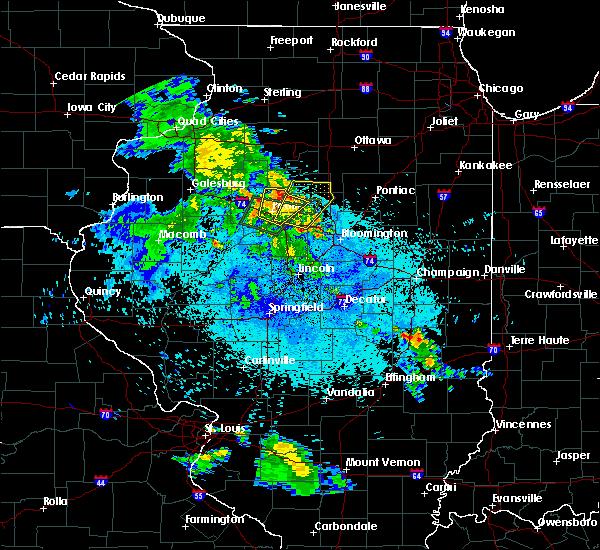 Radar Image for Severe Thunderstorms near Metamora, IL at 5/25/2020 9:04 PM CDT