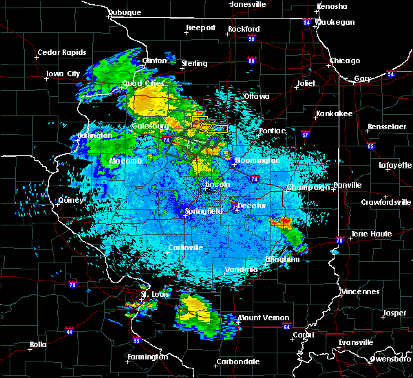 Radar Image for Severe Thunderstorms near Lacon, IL at 5/25/2020 9:18 PM CDT