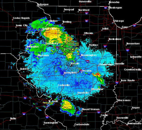 Radar Image for Severe Thunderstorms near Lacon, IL at 5/25/2020 9:29 PM CDT