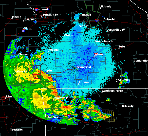Radar Image for Severe Thunderstorms near Joplin, MO at 5/25/2020 9:47 PM CDT