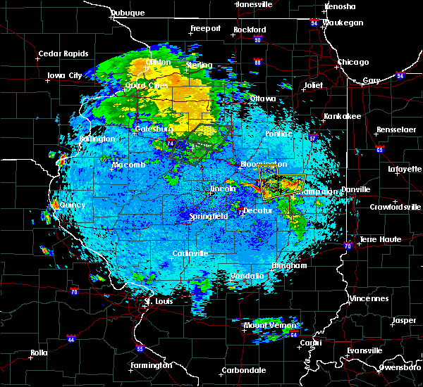 Radar Image for Severe Thunderstorms near Ludlow, IL at 5/25/2020 10:32 PM CDT
