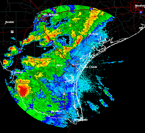 Radar Image for Severe Thunderstorms near Guerra, TX at 5/26/2020 12:55 AM CDT