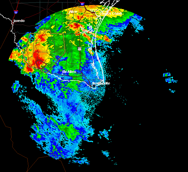 Radar Image for Severe Thunderstorms near Fernando Salinas, TX at 5/26/2020 2:02 AM CDT