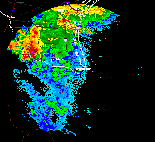 Radar Image for Severe Thunderstorms near Fernando Salinas, TX at 5/26/2020 2:14 AM CDT