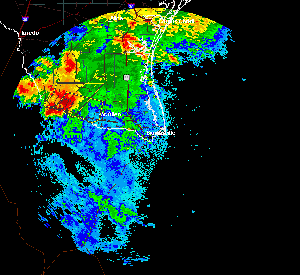 Radar Image for Severe Thunderstorms near Fernando Salinas, TX at 5/26/2020 2:27 AM CDT