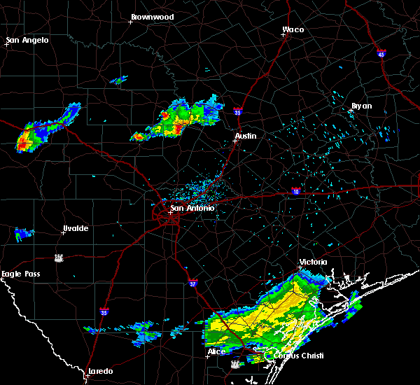 Radar Image for Severe Thunderstorms near Round Mountain, TX at 5/26/2020 7:32 AM CDT