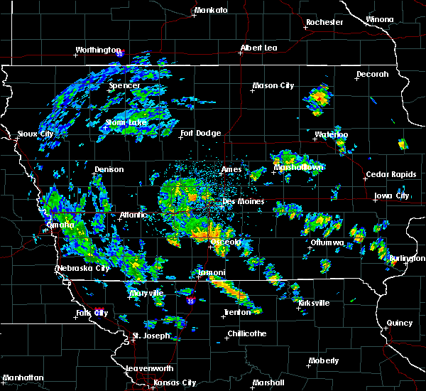 Radar Image for Severe Thunderstorms near Perry, IA at 5/26/2020 1:28 PM CDT