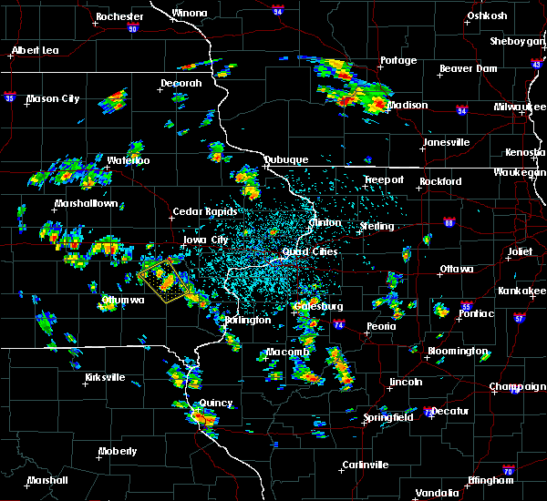 Radar Image for Severe Thunderstorms near Wellman, IA at 5/26/2020 1:56 PM CDT