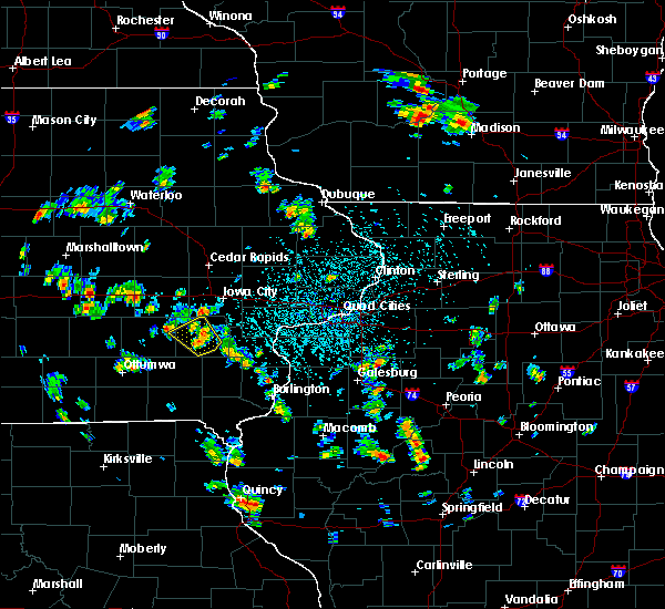 Radar Image for Severe Thunderstorms near Wellman, IA at 5/26/2020 2:01 PM CDT