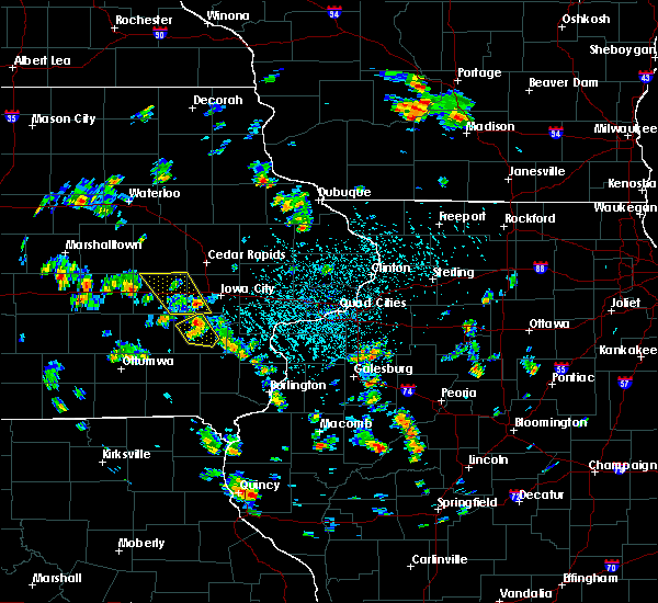 Radar Image for Severe Thunderstorms near Wellman, IA at 5/26/2020 2:09 PM CDT