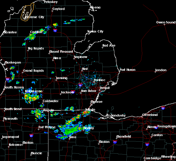 Radar Image for Severe Thunderstorms near Toledo, OH at 5/26/2020 4:33 PM EDT