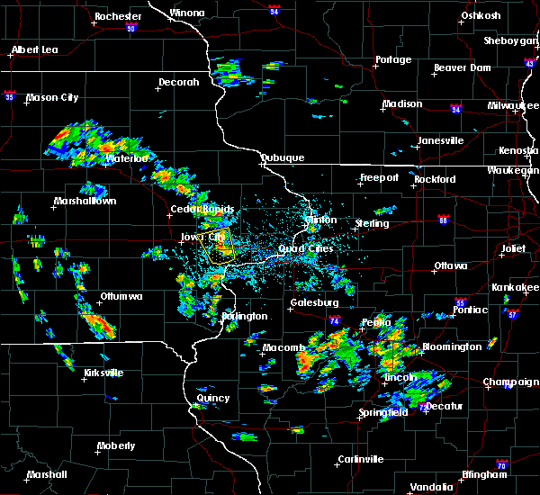 Radar Image for Severe Thunderstorms near Tipton, IA at 5/26/2020 3:52 PM CDT