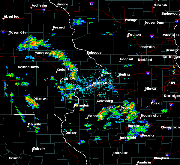 Radar Image for Severe Thunderstorms near Tipton, IA at 5/26/2020 4:10 PM CDT