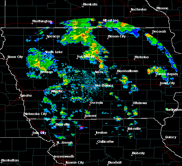 Radar Image for Severe Thunderstorms near Belmond, IA at 5/26/2020 5:19 PM CDT