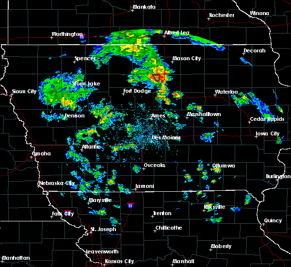 Radar Image for Severe Thunderstorms near Alexander, IA at 5/26/2020 5:43 PM CDT