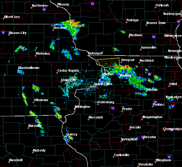 Radar Image for Severe Thunderstorms near German Valley, IL at 5/26/2020 6:30 PM CDT