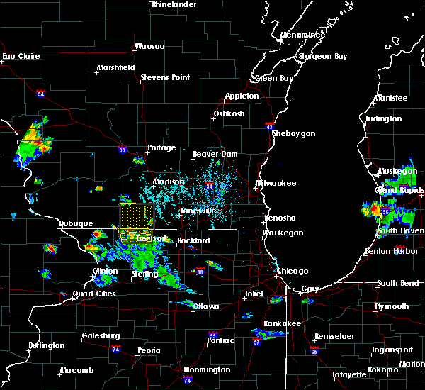 Radar Image for Severe Thunderstorms near Brodhead, WI at 5/26/2020 6:53 PM CDT