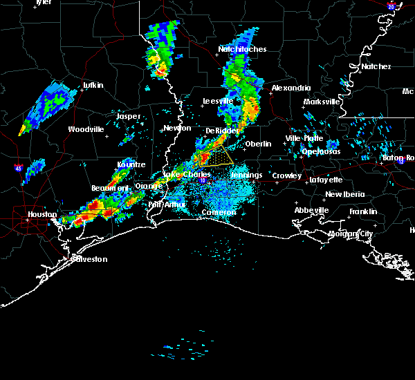 Radar Image for Severe Thunderstorms near Longville, LA at 5/26/2020 7:17 PM CDT