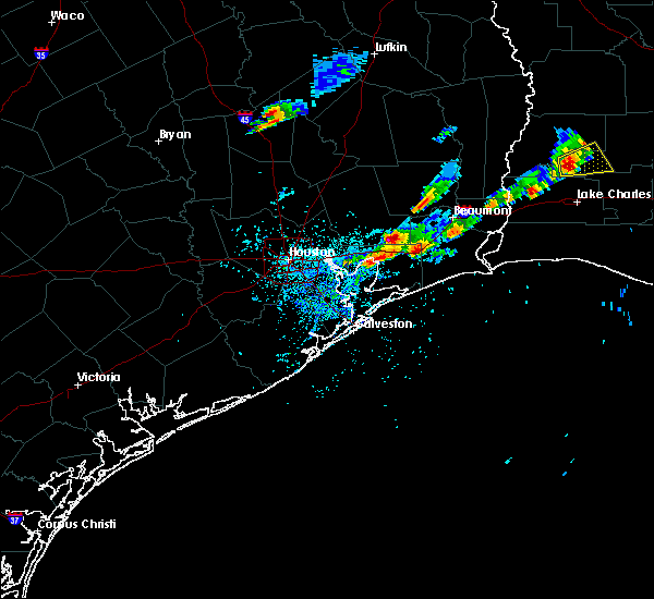 Radar Image for Severe Thunderstorms near Devers, TX at 5/26/2020 7:20 PM CDT