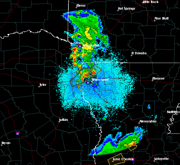 Radar Image for Severe Thunderstorms near Plain Dealing, LA at 5/26/2020 9:16 PM CDT