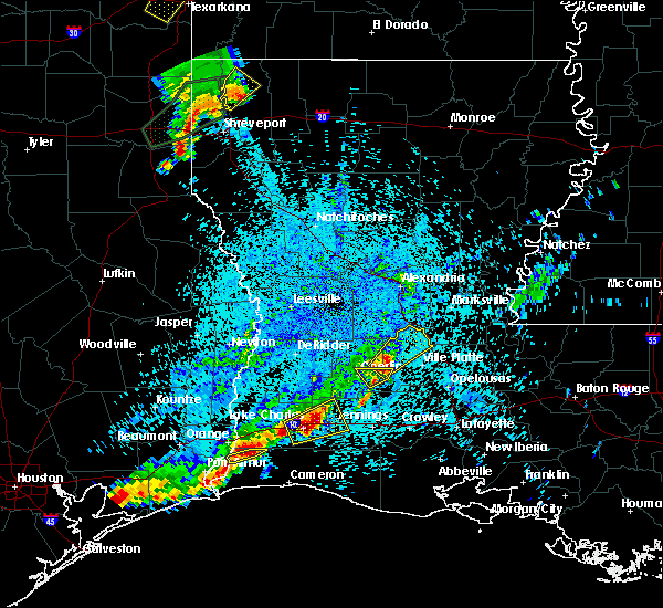 Radar Image for Severe Thunderstorms near Pine Prairie, LA at 5/26/2020 9:17 PM CDT