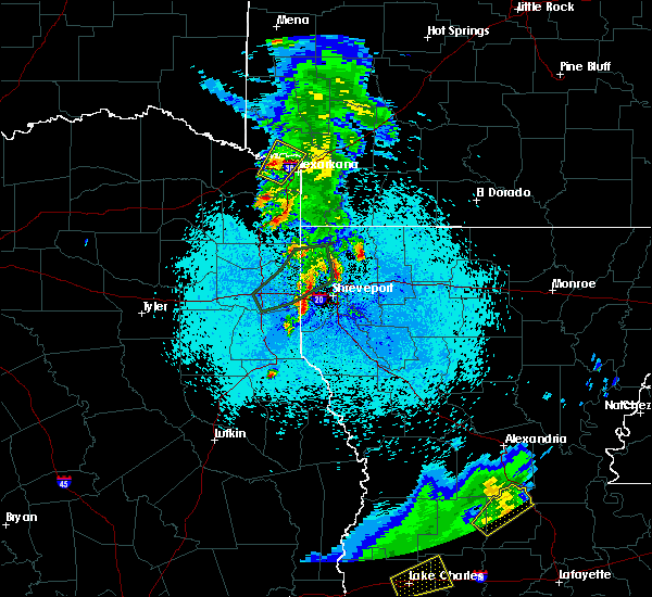 Radar Image for Severe Thunderstorms near Texarkana, TX at 5/26/2020 9:42 PM CDT