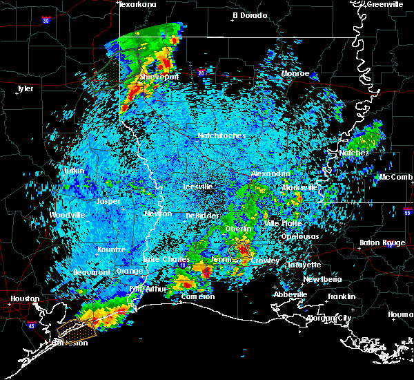 Radar Image for Severe Thunderstorms near Branch, LA at 5/26/2020 10:46 PM CDT