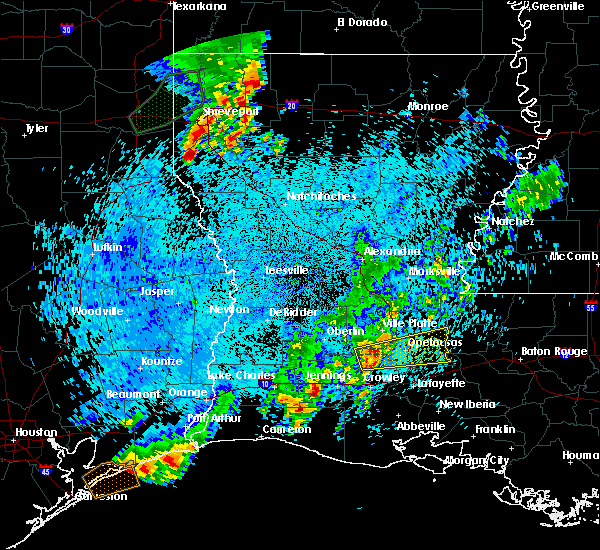 Radar Image for Severe Thunderstorms near Church Point, LA at 5/26/2020 11:07 PM CDT