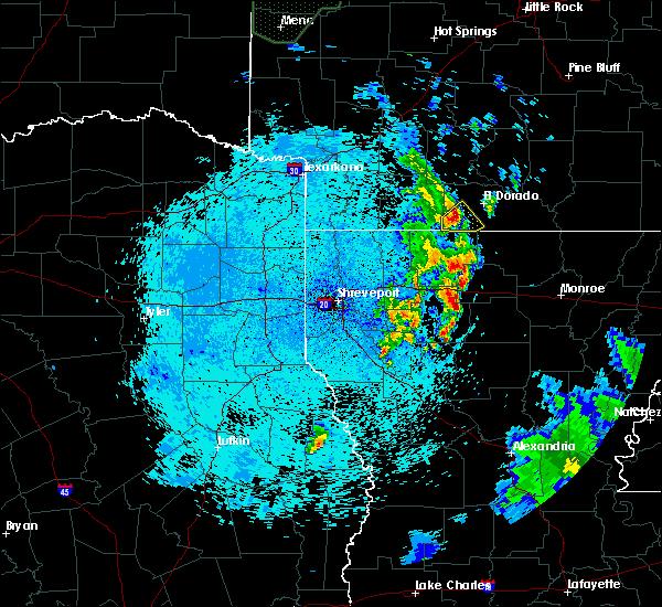 Radar Image for Severe Thunderstorms near Junction City, AR at 5/27/2020 12:27 AM CDT