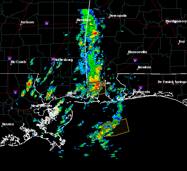 Radar Image for Severe Thunderstorms near Spanish Fort, AL at 5/27/2020 11:03 AM CDT
