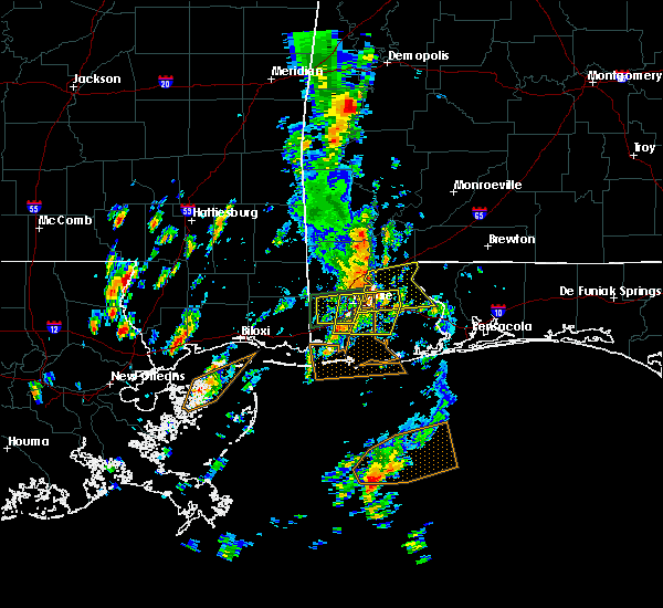 Radar Image for Severe Thunderstorms near Spanish Fort, AL at 5/27/2020 11:25 AM CDT