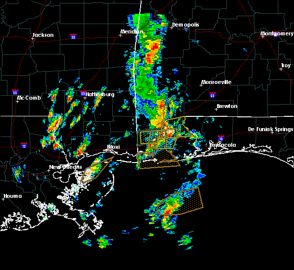 Radar Image for Severe Thunderstorms near Spanish Fort, AL at 5/27/2020 11:37 AM CDT