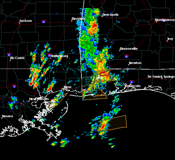 Radar Image for Severe Thunderstorms near Spanish Fort, AL at 5/27/2020 11:51 AM CDT