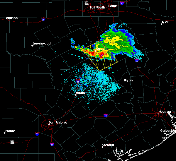 Radar Image for Severe Thunderstorms near Woodway, TX at 5/27/2020 12:48 PM CDT