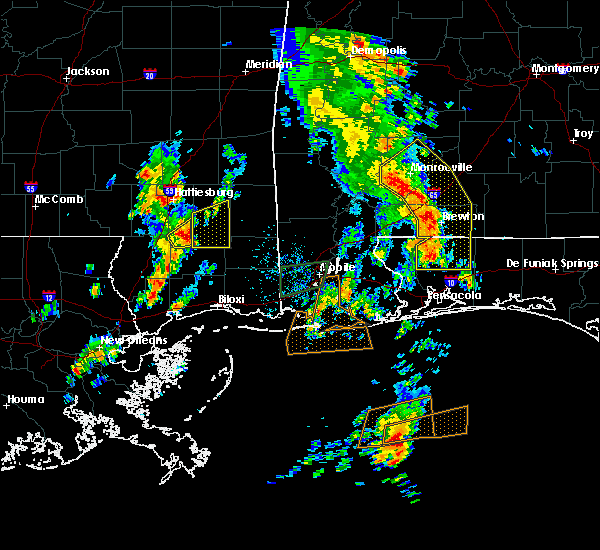 Radar Image for Severe Thunderstorms near Whitfield, FL at 5/27/2020 1:09 PM CDT